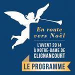 Livret programme Avent 2014